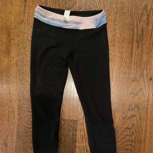 Ivivva size 8 reversible leggings
